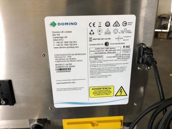 Codificador de tinta DOMINO AX 150 nuevo