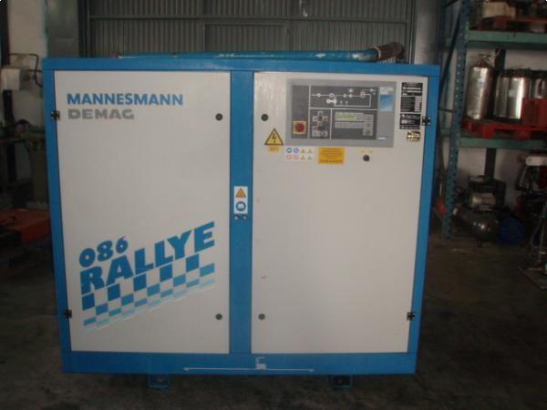Compresor de tornillo y secador de aire MANNESMANN DEMAG 55 cv