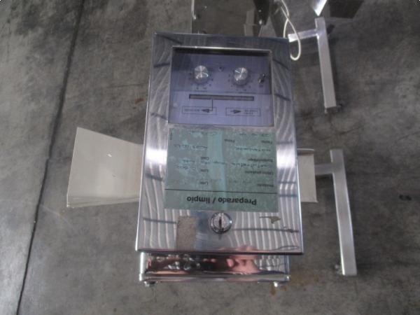 Detectores de metales para industria farmaceutica en acero inoxidable METALCHEK