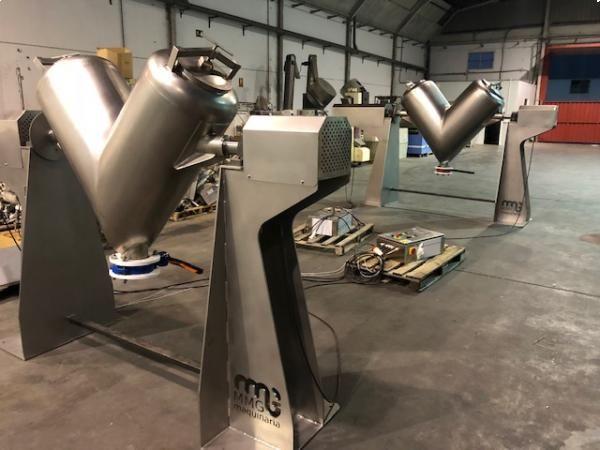 Mezclador en V en acero inoxidable de capacidad 300 litros NUEVO