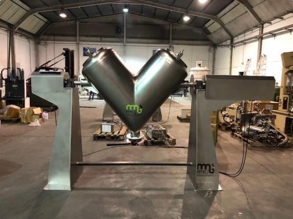 Mezclador en V en acero inoxidable de capacidad 500 litros NUEVO