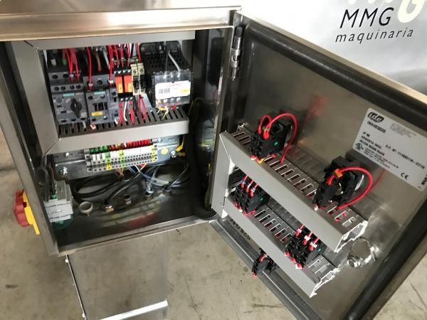Mezcladora de bandas horizontal con capacidad de 250 litros