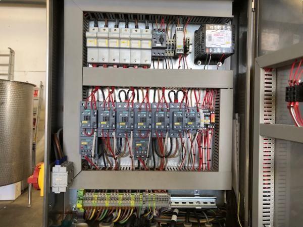 Mezcladora de bandas MMG en acero inoxidable de capacidad 5000 litros NUEVA