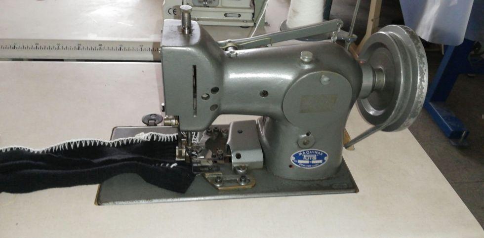 maquina coser manta