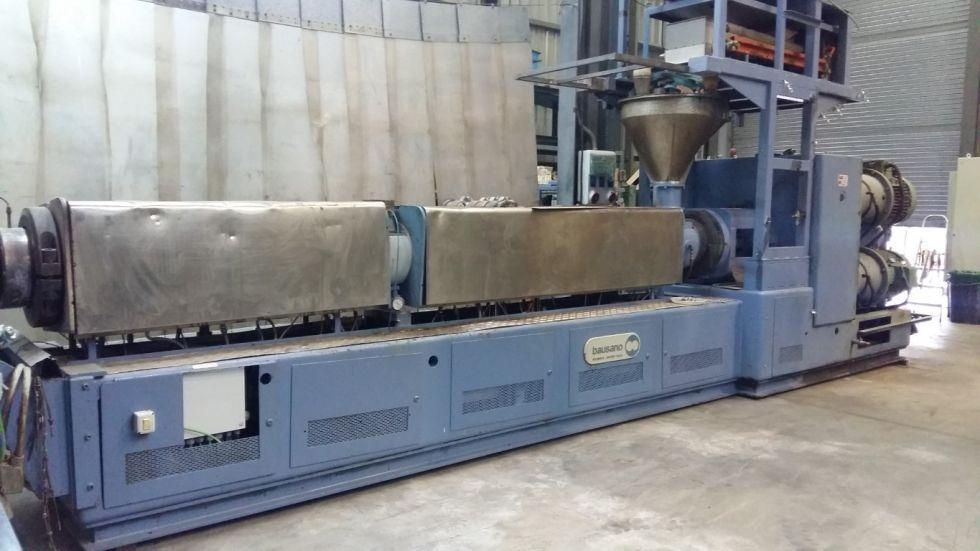 Equipo BAUSANO para la fabricación de lámina WOODSTOCK