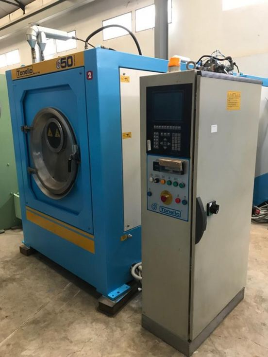 Maquina de lavar y tintar