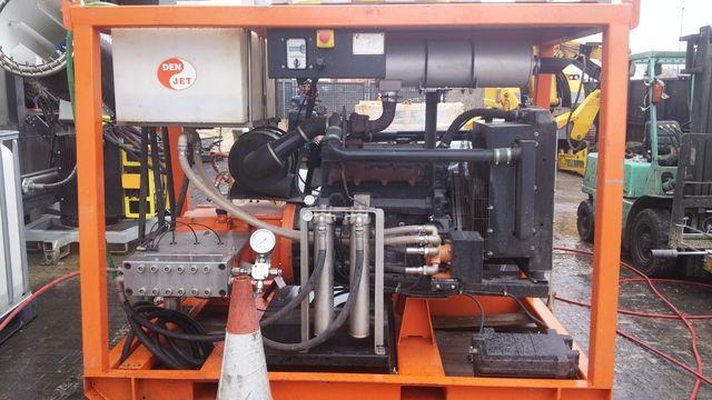 Máquina de agua a presión