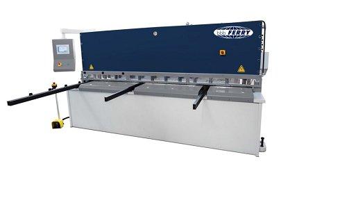 Cizalla hidráulica de corte pendular CNC HGD con control NC