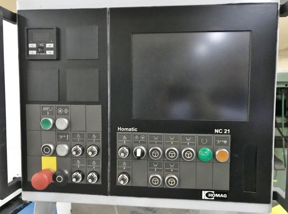 Maquina de postformado automática