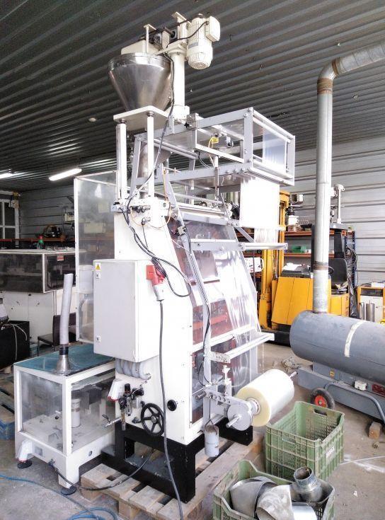 Envasadora vertical productos en polvo para paquete cuadrado