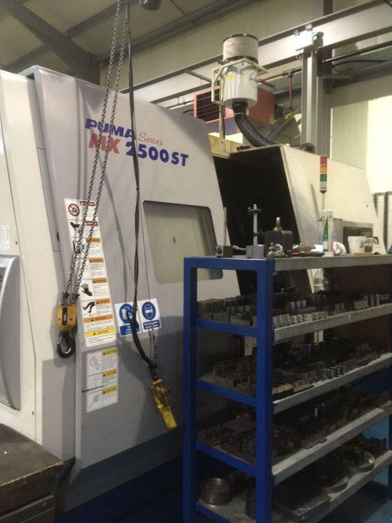 Doosan PUMA MX 2500 Multitasking 760 x 1000 mm Mach4metal 4169