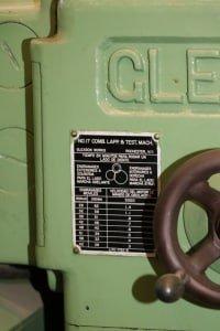 Comprobador de engranajes GLEASON 17-M