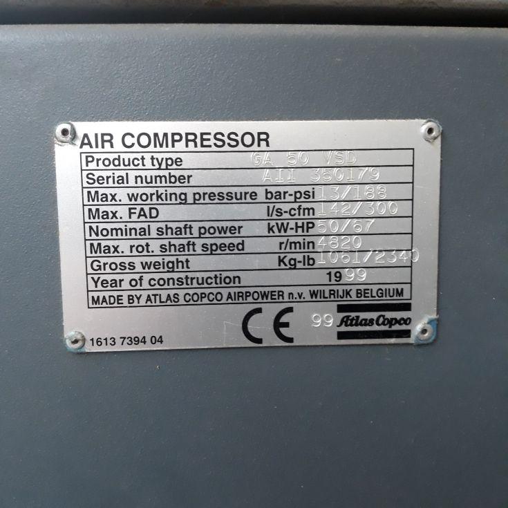 compresor con secador