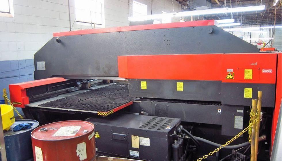 Punzonadora Torreta CNC