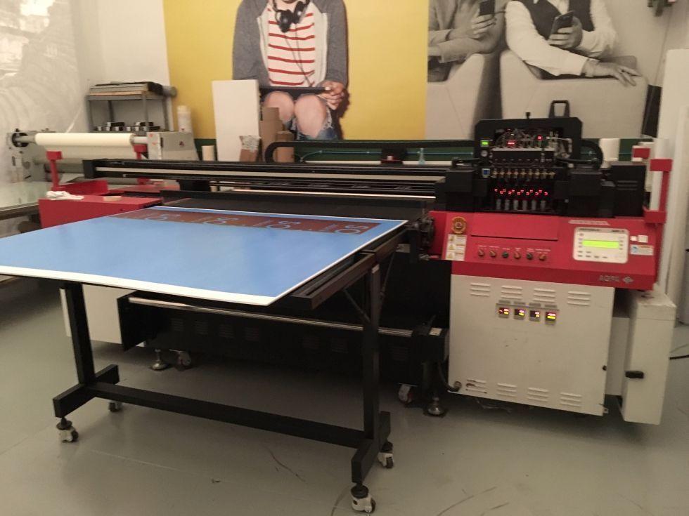 Impresora uvi