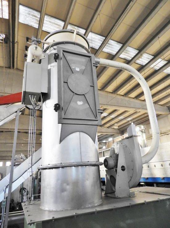 Mezcladora para productos sólidos