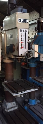 Taladro de columna ERLO TCA-50