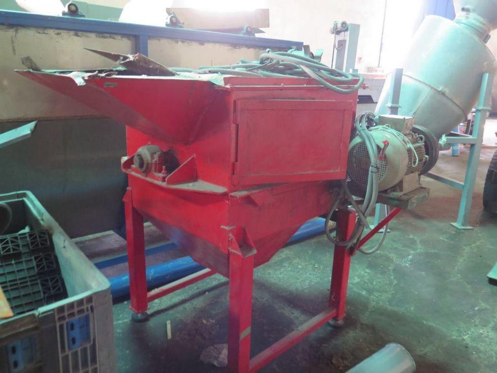 GT-2799 Centrifuga de secado de 1 m x 0,5 con motor de 11 kw (15cv) a 2.000 rpm.
