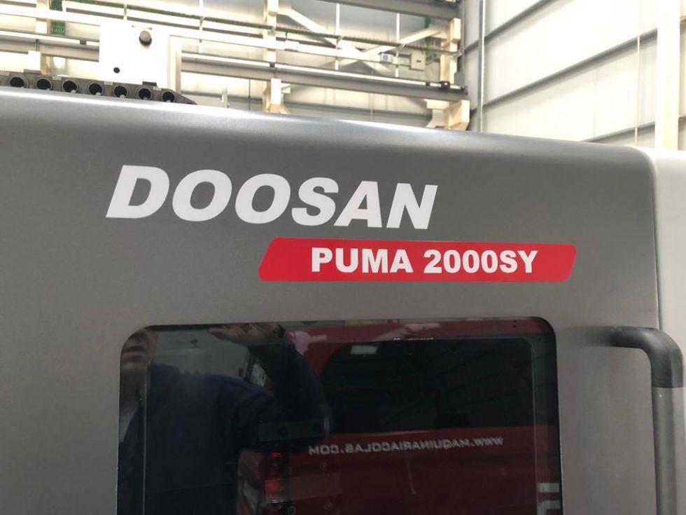 Torno CNC Doosan Puma 2000 SY