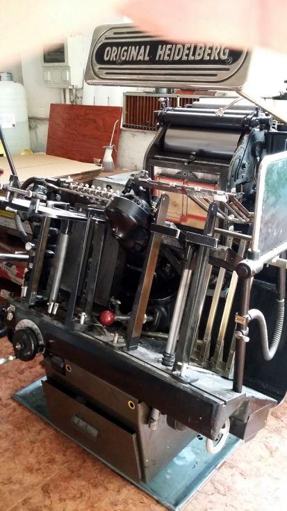 Se VENDE: Minerva para imprimir y Troquelar