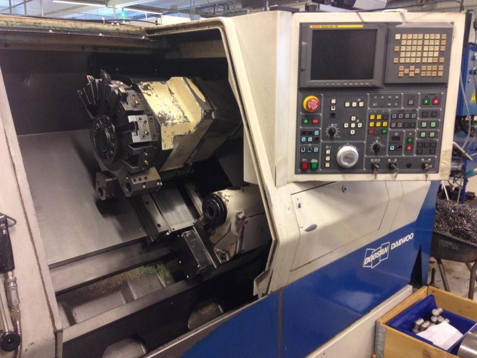 Doosan PUMA 280 M Ø 410 x 610 with C Axis & Live tools 4209 = Mach4metal