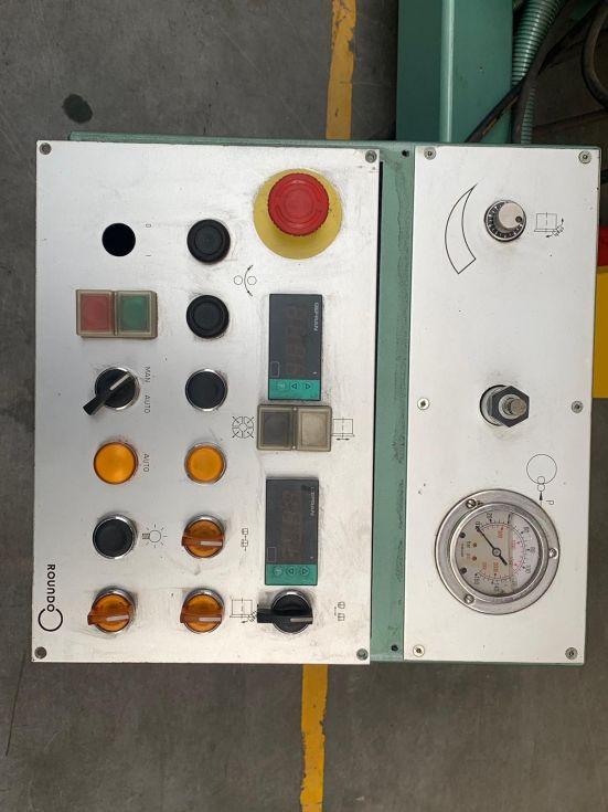 Roundo SF-2 Flanging machine 1500 x 6 mm 4211 = Mach4metal