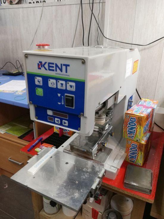 Maquina de tampografía