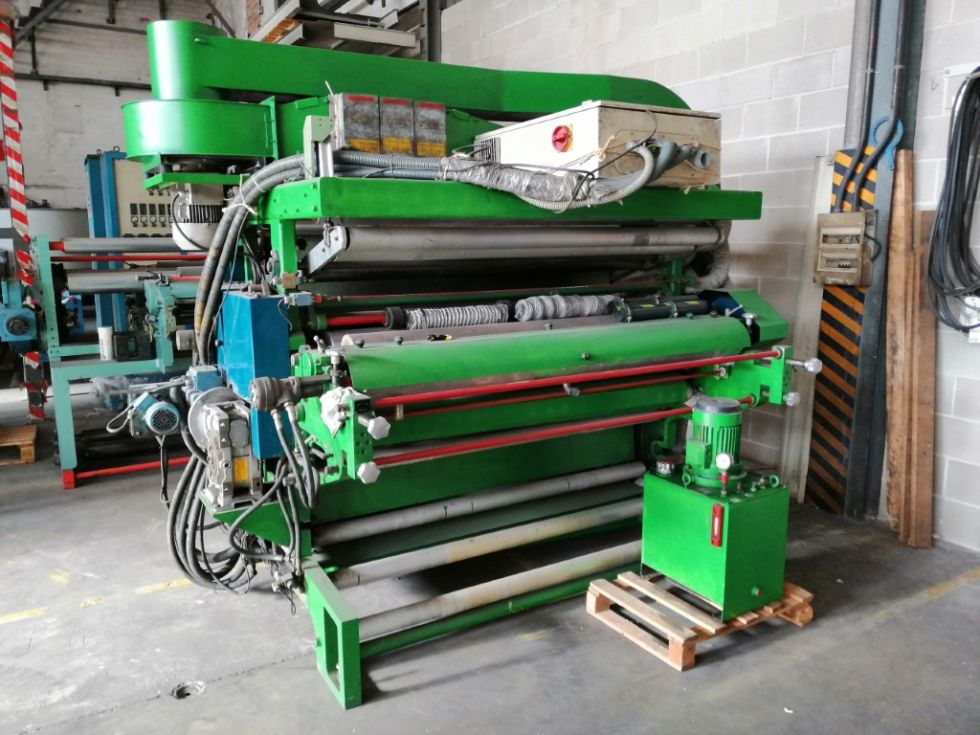 Grupo automático de impresión flexo en línea