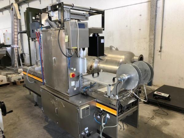 Máquina termoformadora ULMA en acero inox TF-100