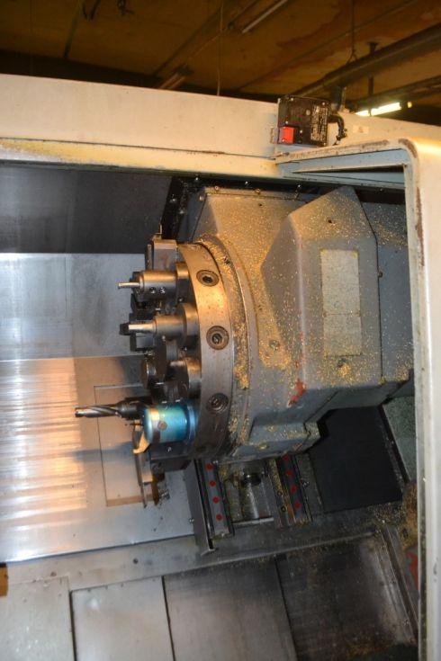 Hyundai SKT 21 LMS Ø 550 x 530 Live tool / C Axis / Sub spil 4300 = Mach4metal