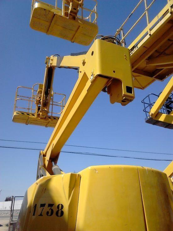 Plataforma articulada diesel