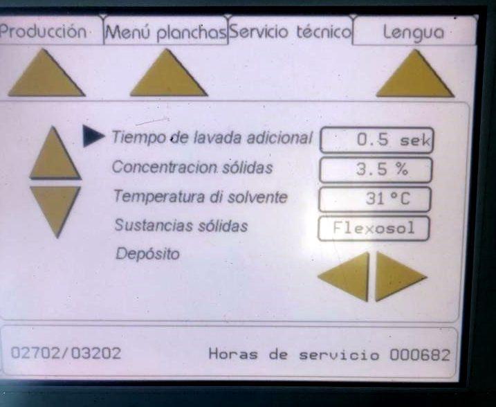 Se VENDE: Equipo flexográfico DuPont 1000P + Horno Degraf EDLF 3849