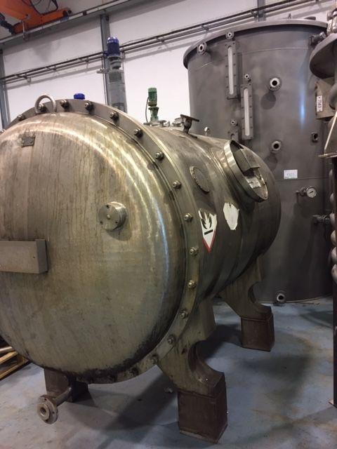 Deposito acero inoxidable 4300 litros de segunda mano