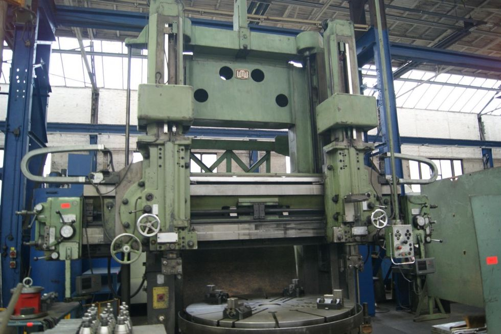 WMW DKZ 2000 VTL Ø 2000 x 1250 x 6 Ton 4306 = Mach4metal