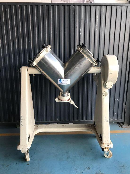 Mezclador en v acero inoxidable 50 litros de segunda mano
