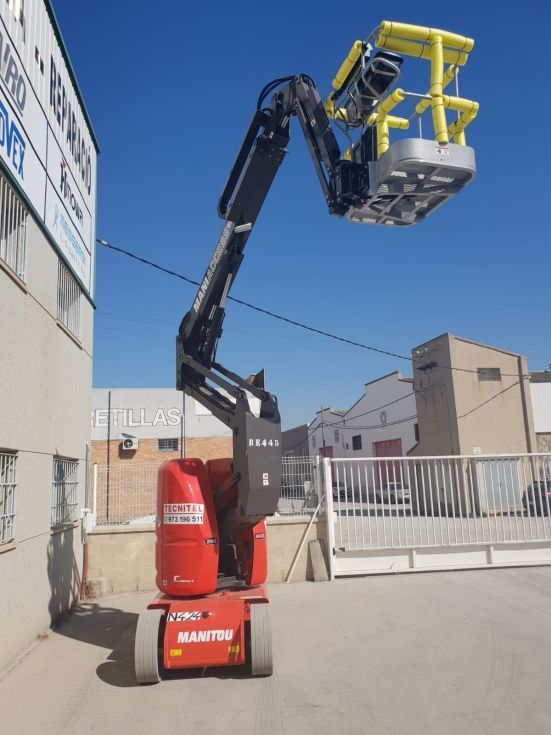 Plataforma Elevadora Articulada 12 mts eléctrica