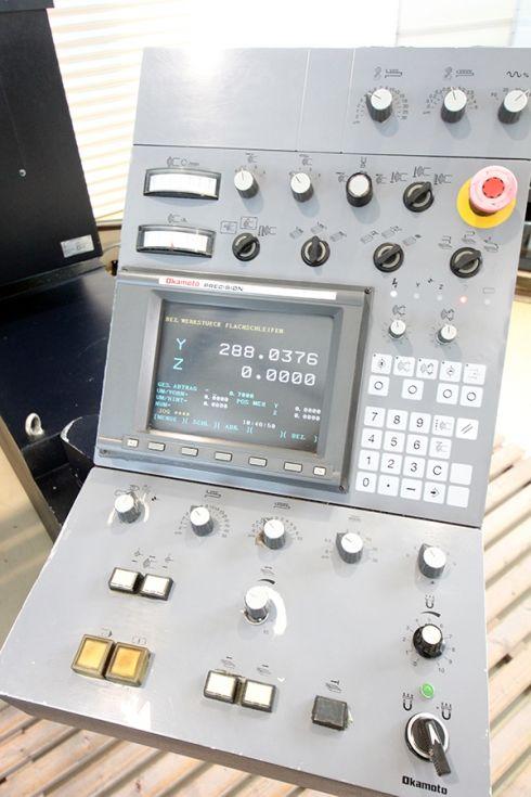 Okamoto CNC Surface / Profile 800 x 440 x 500 mm 4302 = Mach4metal