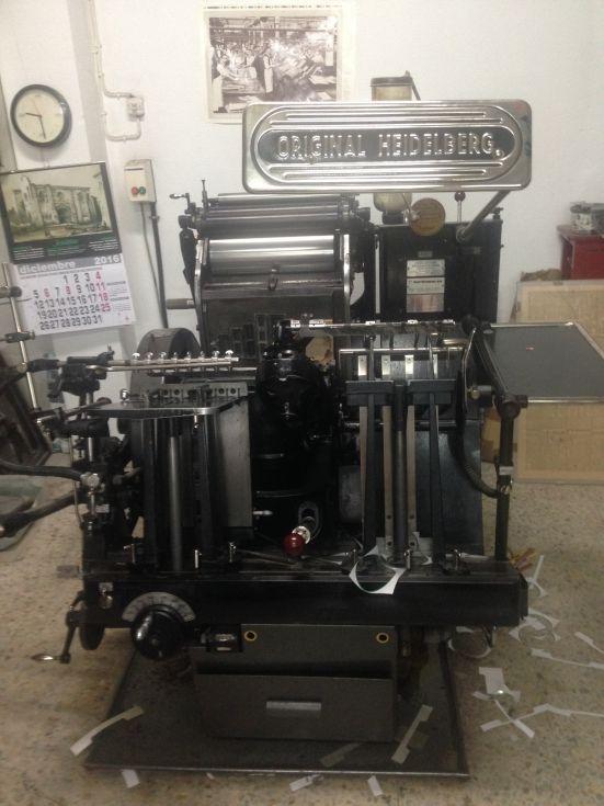 Maquina imprimir aspas
