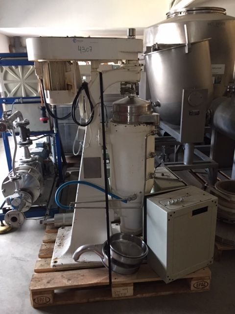 Super centrifuga alfa laval mv15 3s 21 1h de segunda mano
