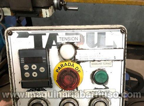 Torno al aire TADU Mod. FS 750 de plato 1800 mm