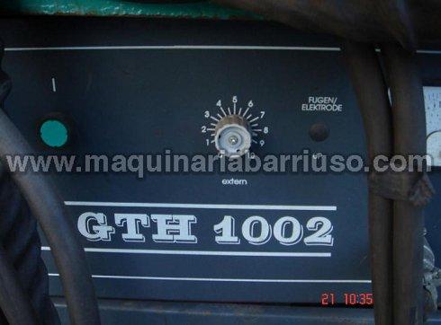 Arco sumergido PRAXAIR GTH 1002