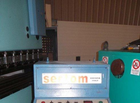 Curvadora SERTOM PP 140 de eje de 140