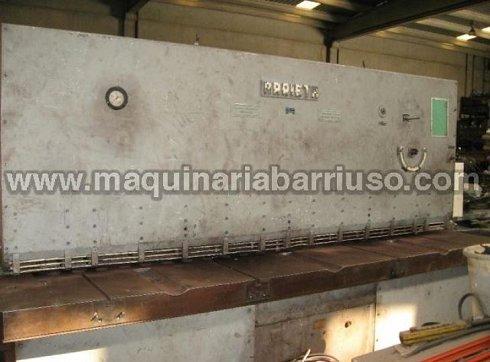 Cizalla ARRIETA hidraulica de 3000 x 16 mm.
