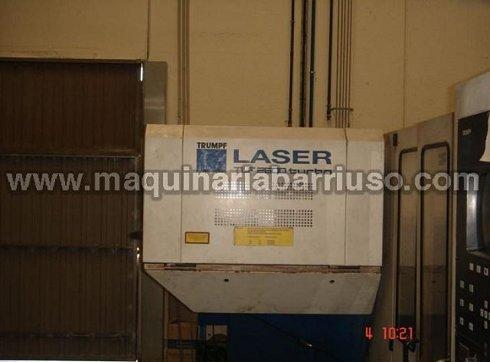 Laser TRUMPF mod. Trumatic L 3030 de 2600 W de potencia