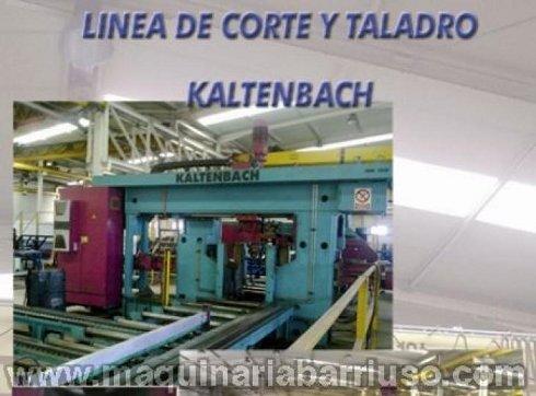 Linea de corte y taladro KALTENBACH.