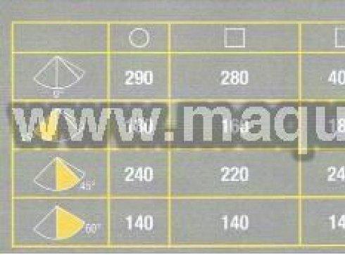 Sierra de cinta MACC mod. SPECIAL 400 CSO. Semiautomativa.