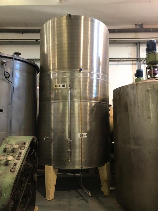 Deposito acero inoxidable 17.000 litros