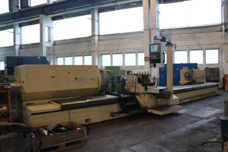Torno para rodillos CNC Meuselwitz DXWK 1000/3
