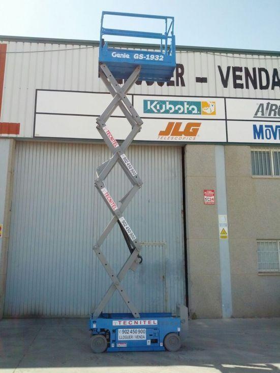 tijera eléctrica 6.6 mts