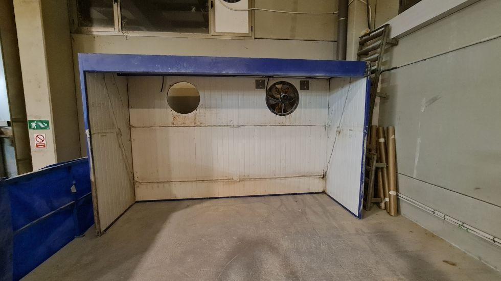 Frontal cabina de barnizado